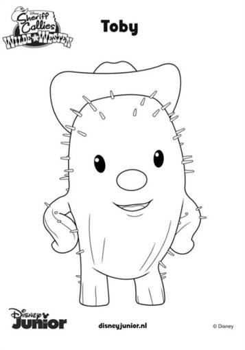 Printable Wild West Coloring Page 2 - Coolest Free Printables | 509x357