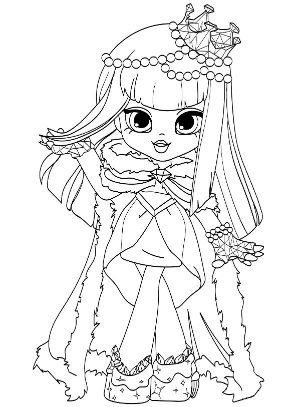 Kids N Fun Com Coloring Page Shopkin Shoppies Shopkins Dolls 2