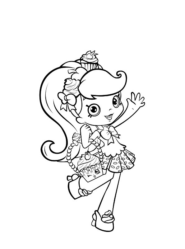 Kids N Fun Co Uk Coloring Page Shopkin Shoppies Shopkins Dolls