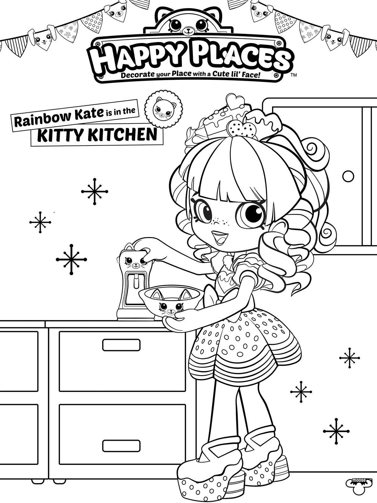 Kidsnfun 53 coloring pages of Shopkins