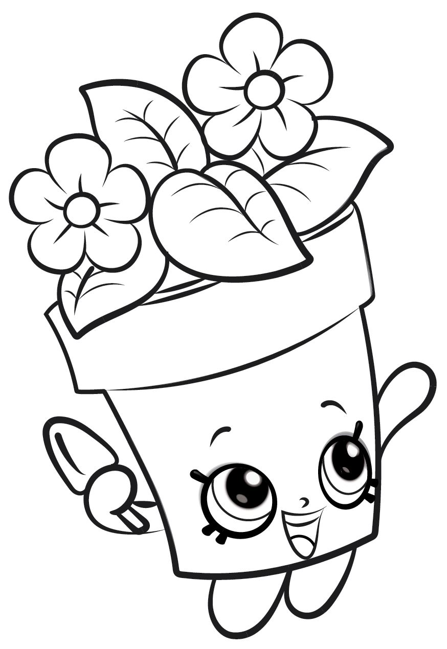 Kids N Fun Com Coloring Page Shopkins Shopkins 19