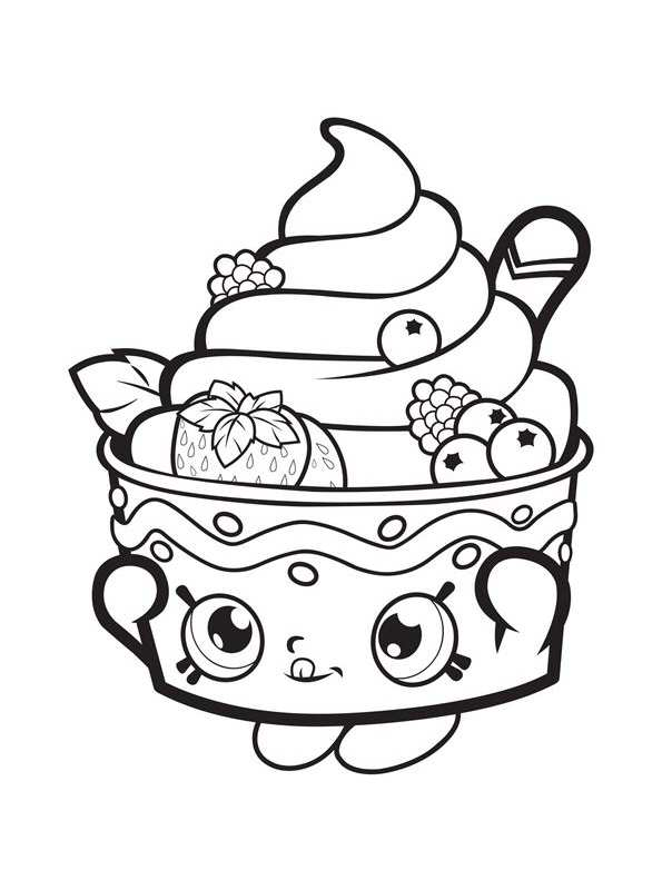 Kids N Fun Com 53 Coloring Pages Of Shopkins