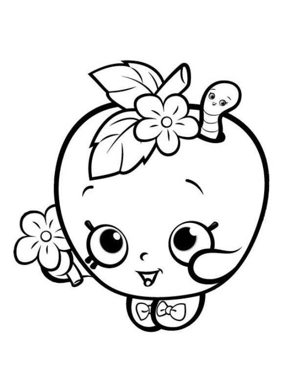 Kids N Fun Co Uk Coloring Page Shopkins Shopkins 32