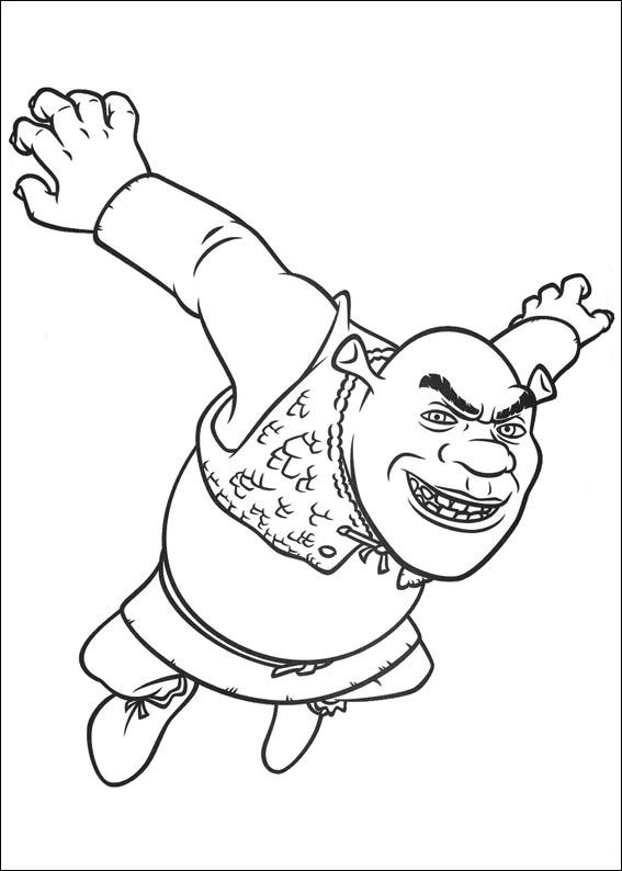 And More Of These Coloring Pages Coloring Pages Of: Puss In Boots, Shrek,  Shrek 3, Shrek The Third