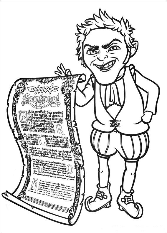 shrek forever after coloring pages - photo#19