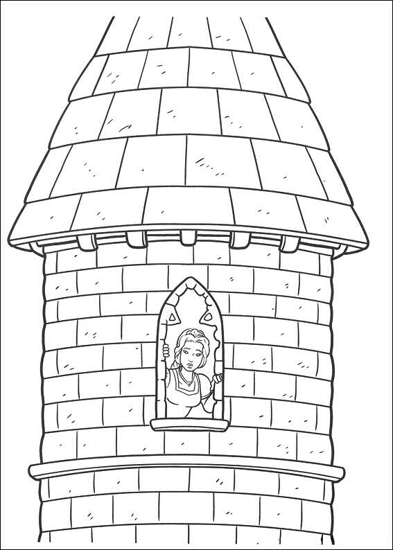 shrek forever after coloring pages - photo#34