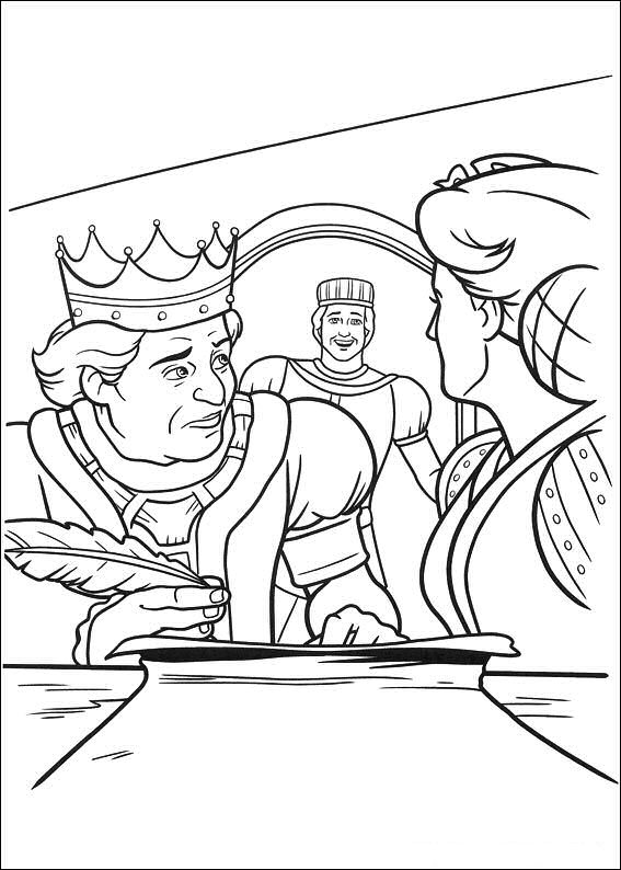 shrek forever after coloring pages - photo#15