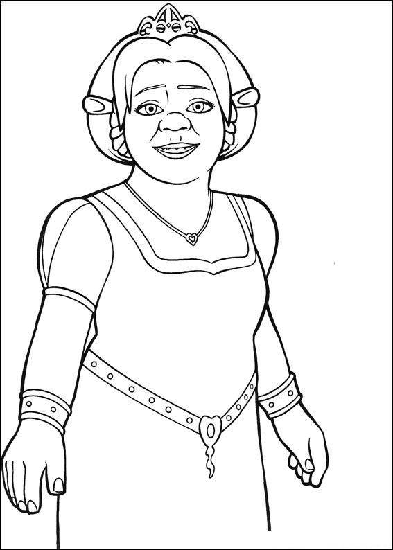 Kids-n-fun.co.uk | 26 coloring pages of Shrek the Third