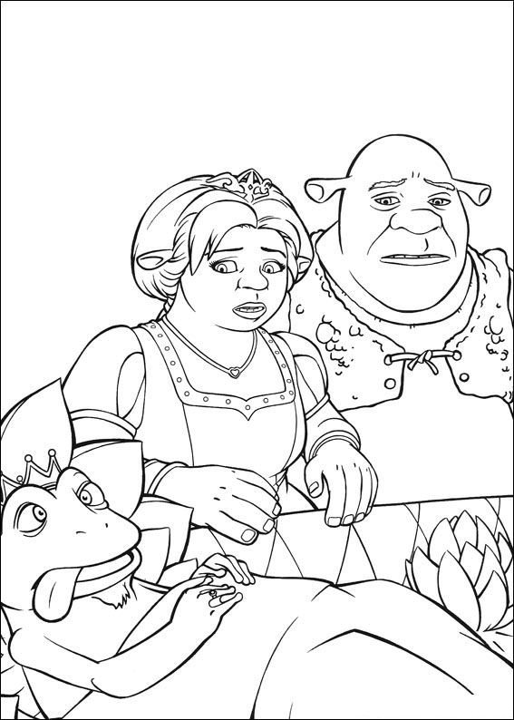 Kids n funcouk 26 coloring pages of Shrek the Third