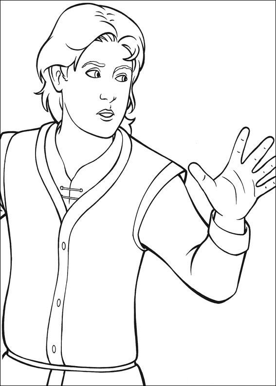 shrek the third coloring pages - kids n coloring page shrek the third shrek the third