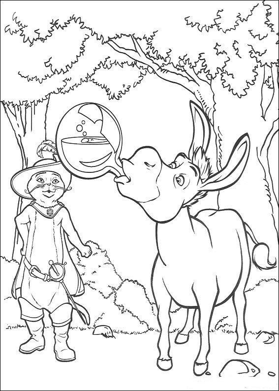 Kids-n-fun.com | 46 coloring pages of Shrek
