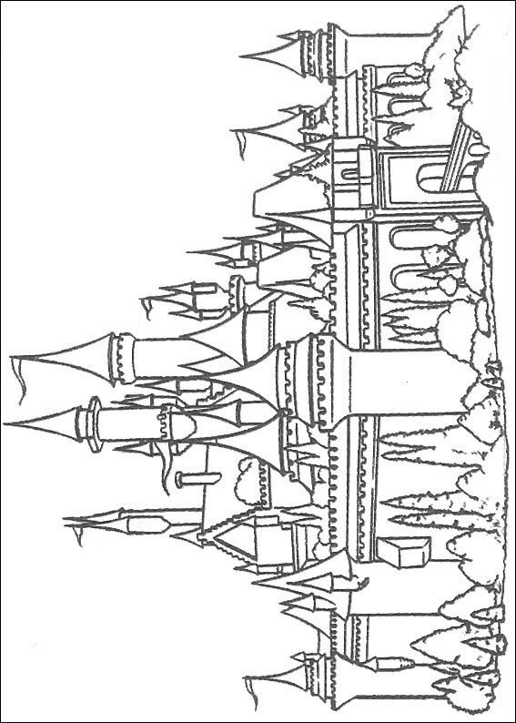 Kids-n-fun.com | 20 coloring pages of Castles