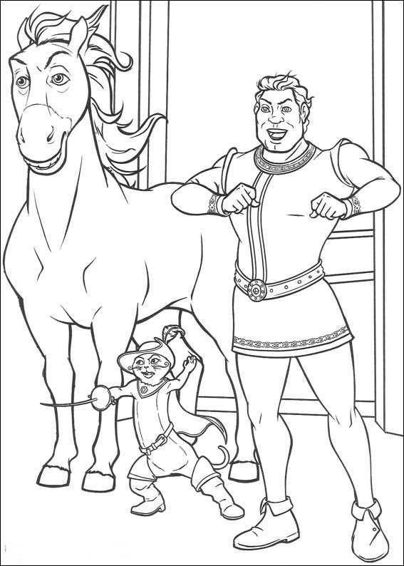 kids n fun com 46 coloring pages of shrek