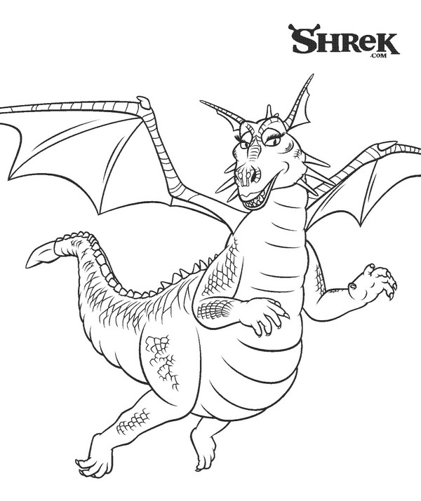 Kids n 18 coloring pages of shrek 3 for Coloring pages shrek