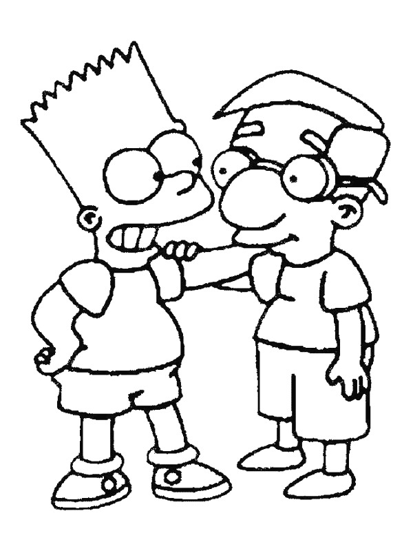 kids n funcouk 58 coloring pages of simpsons