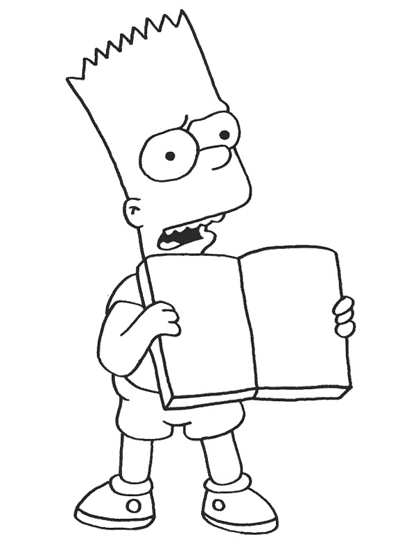 kids n funcom 58 coloring pages of simpsons