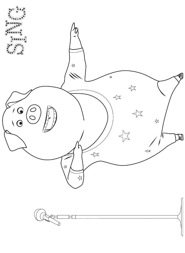 Kidsnfun Coloring page
