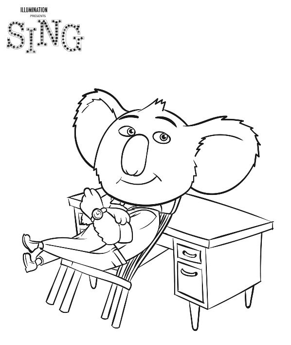 Kids-n-fun.com | 31 coloring pages of Sing