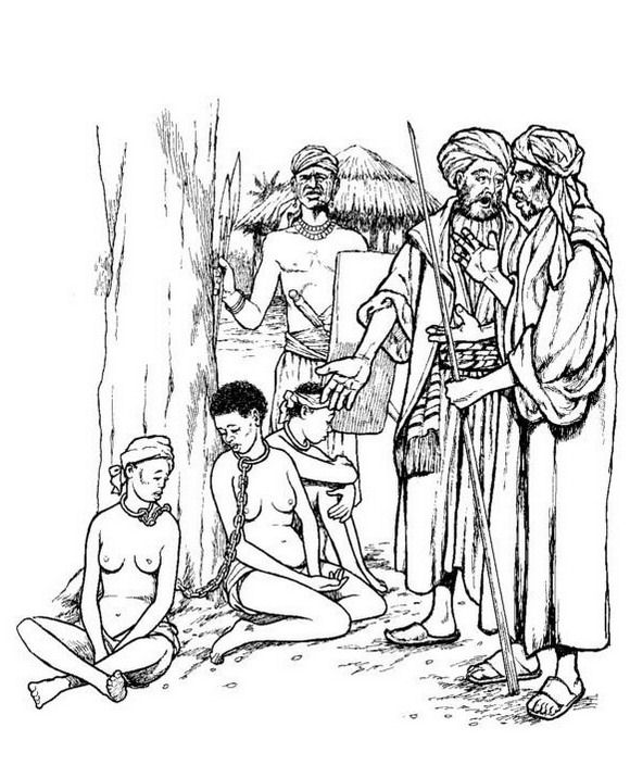 slavery coloring pages - photo#3