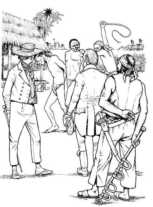 Kleurplaat Fluit Kids N Fun Com Coloring Page Slavery Revolt On The