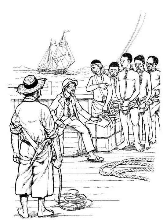 slavery coloring pages printable - photo#1