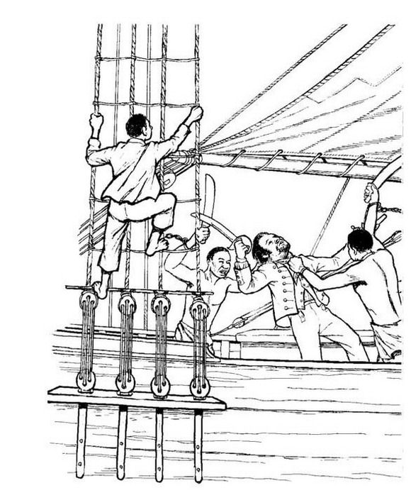 slavery coloring pages - photo#6