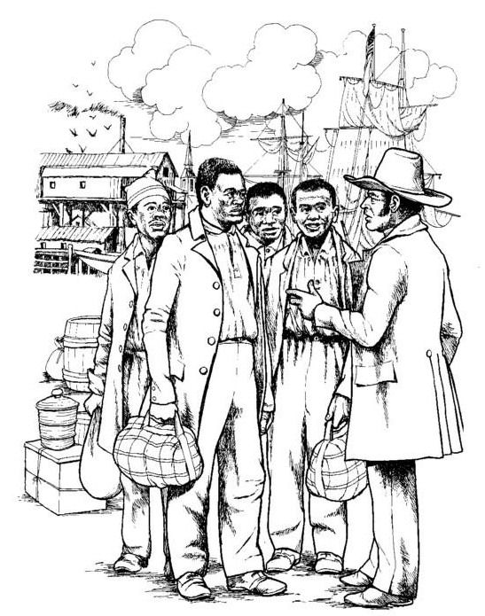 slavery coloring pages - photo#13