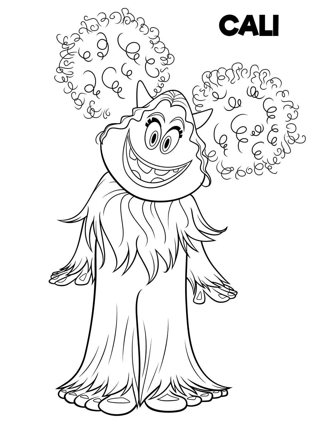 Kids-n-fun.com | 6 coloring pages of Smallfoot