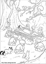 coloring page Snow White