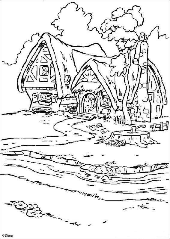 Kids-n-fun.com | 34 coloring pages of Snow White