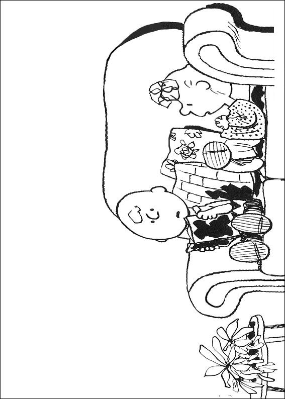 Kidsnfun 23 coloring pages of Snoopy