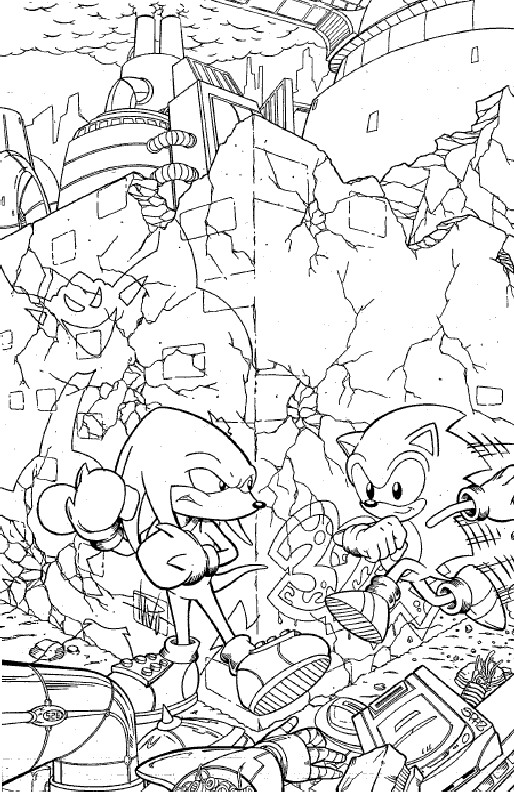 Kids n funcouk 20 coloring pages of Sonic X