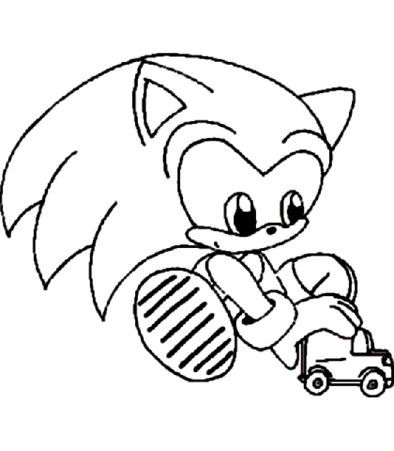 kidsnfun   coloring pages of sonic x, coloring pages
