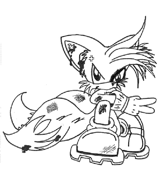 coloring pages sonic x | Kids-n-fun.com | 20 coloring pages of Sonic X