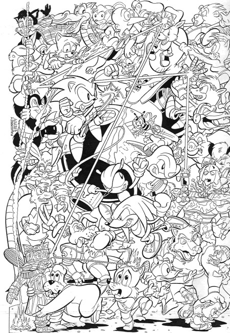 Kids n funcouk Coloring page Sonic X Sonic X