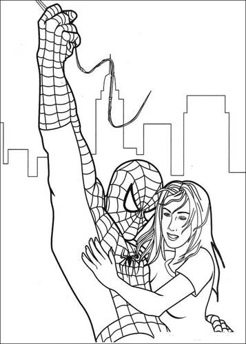 Kids N Fun Com 27 Coloring Pages Of Spiderman