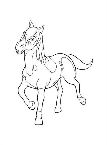 Kids-n-fun.com | 16 coloring pages of Spirit Riding Free