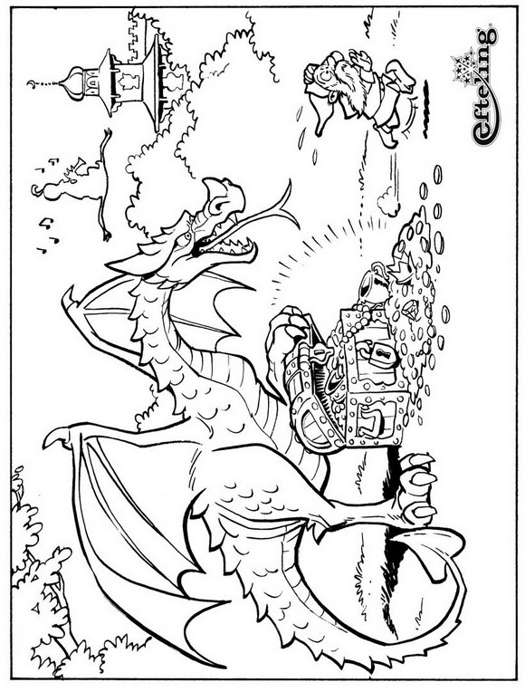 coloring pages fairytales - photo#13