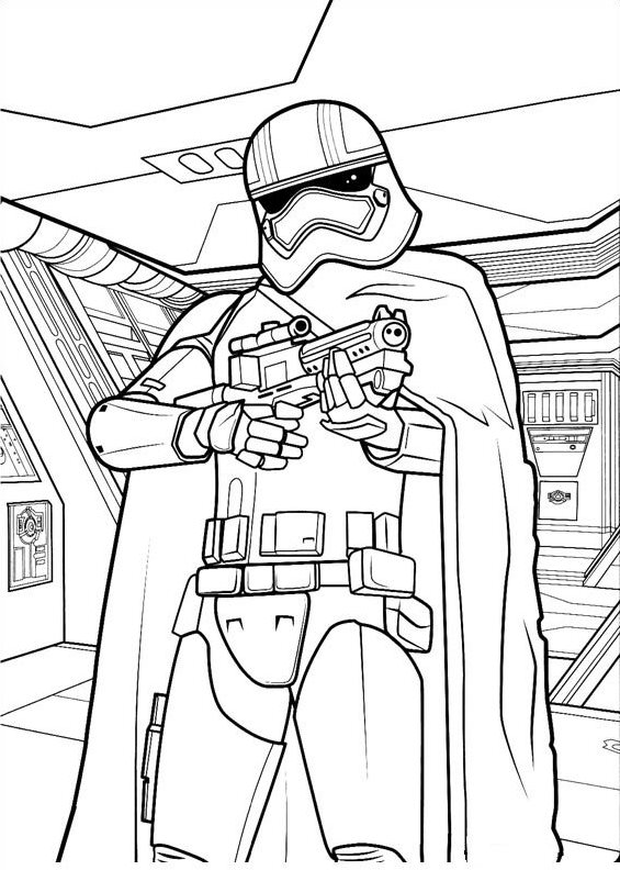 Kids N Fun Co Uk 21 Coloring Pages Of Star Wars The Force Awakens