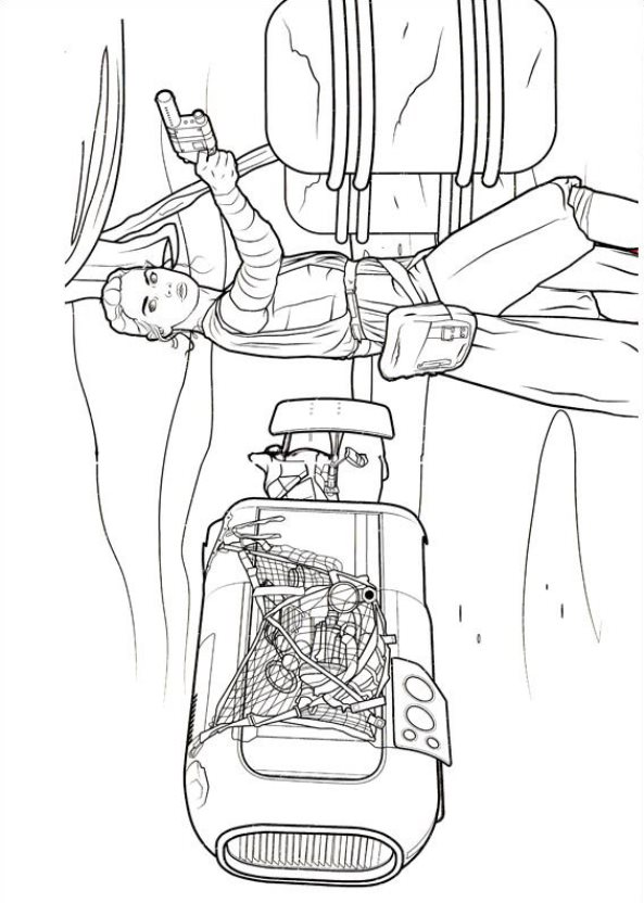 Kidsnfuncouk 21 Coloring pages of Star Wars The