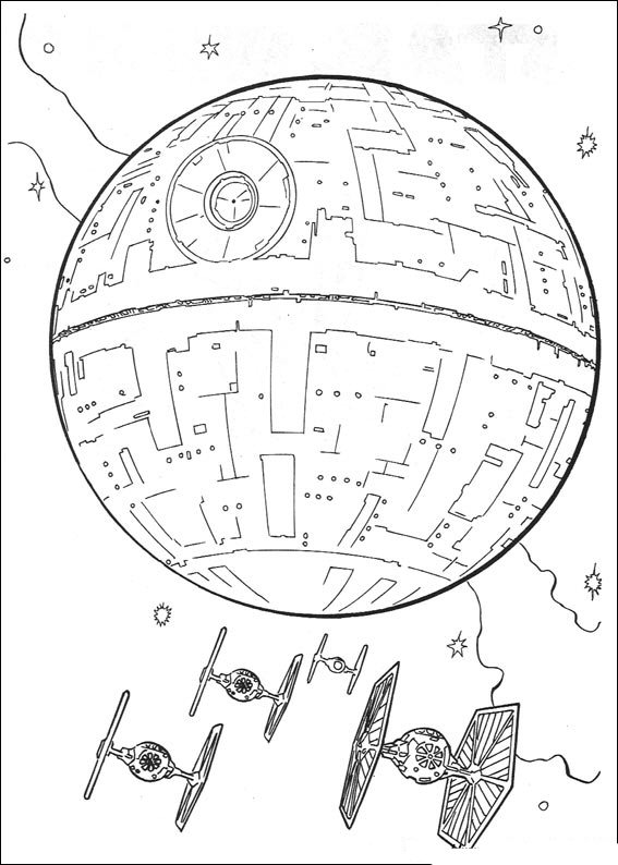 Kidsnfun 67 coloring pages of Star Wars