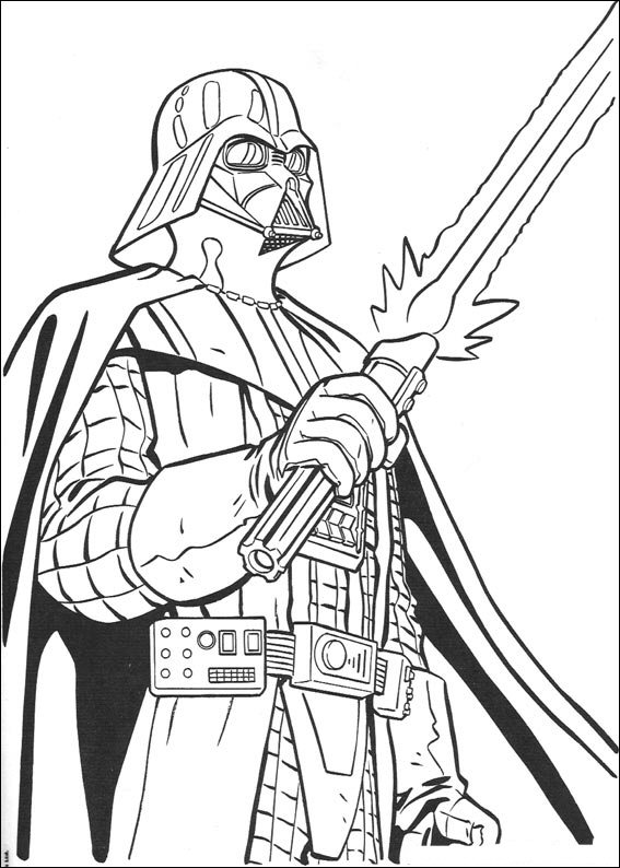 Kids-n-fun.com | 67 coloring pages of Star Wars