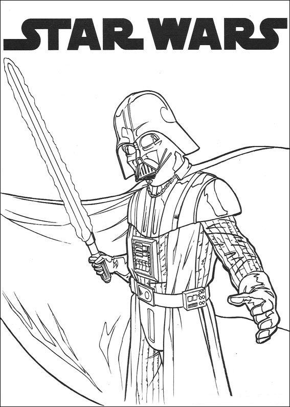 Gratis Kleurplaten Star Wars.Kids N Fun Co Uk Coloring Page Star Wars Star Wars
