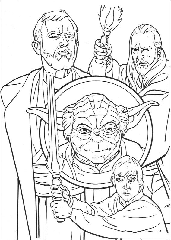 Kids n funcouk 67 coloring pages of Star Wars