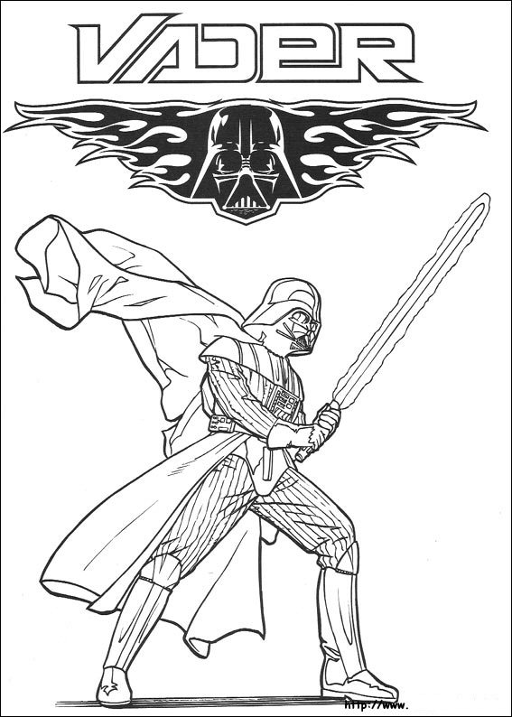 And More Of These Coloring Pages Angry Birds Star Wars Attack The Clones Force Awakens