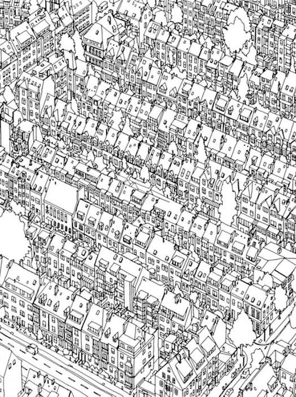 Cities 29 coloring pages of cities