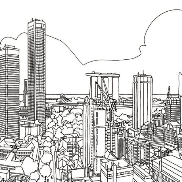 quebec city coloring pages - photo#43