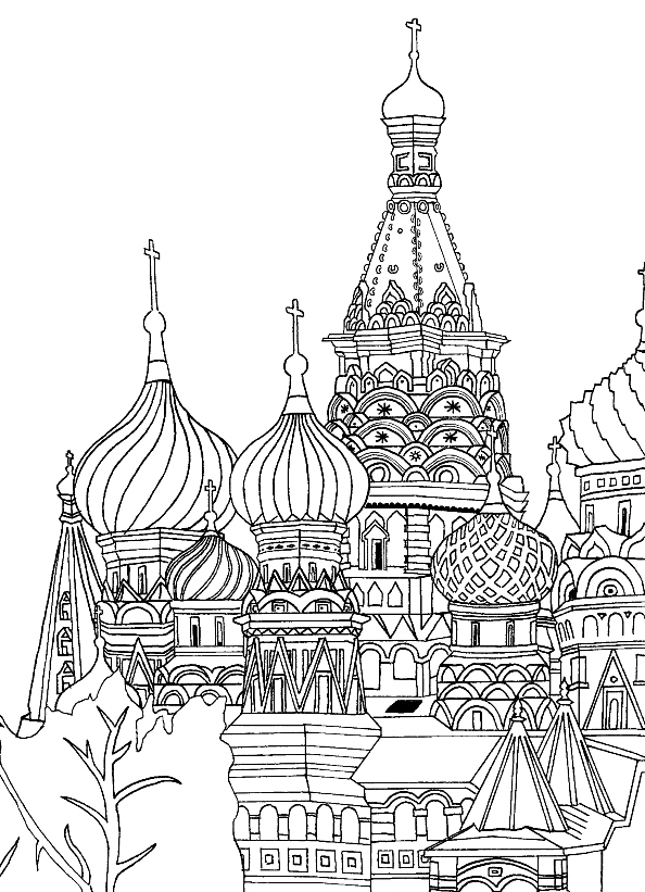 Paris Coloring Pages