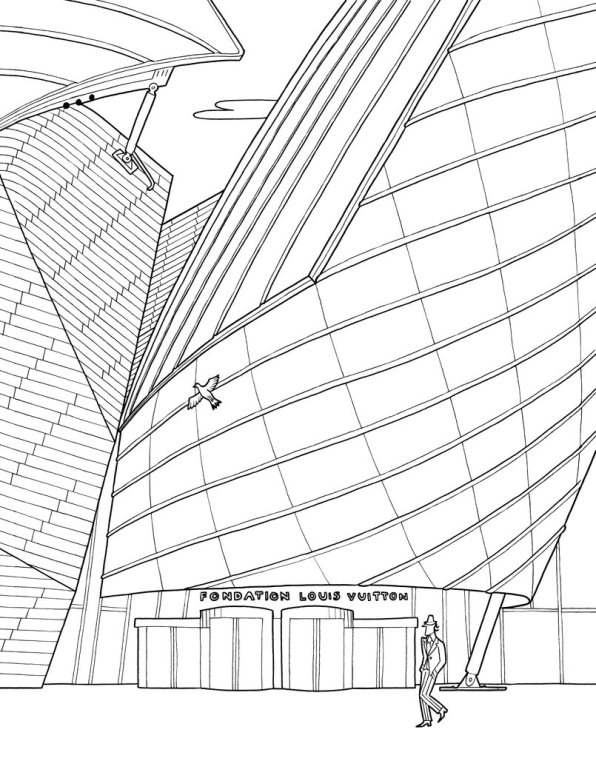 Kidsnfun 29 coloring pages of Cities