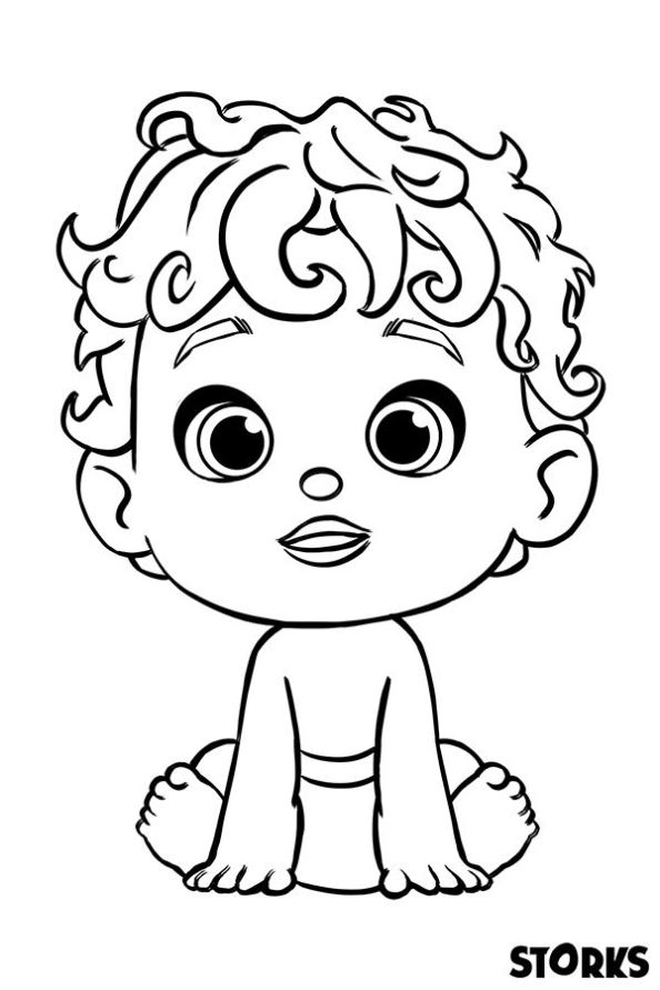 Kidsnfuncom 7 coloring pages of Storks